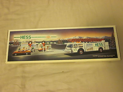 1989 Hess Truck In Original Box MINT condition