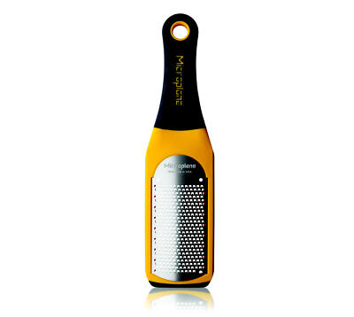 Microplane Artisan Fine Grater Zester, Yellow