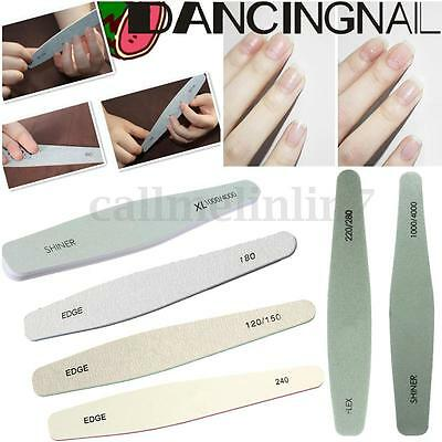 Grit Lime A Ongle Poncage Polissage Sanding Buffer File Manucure Nail Art Kit