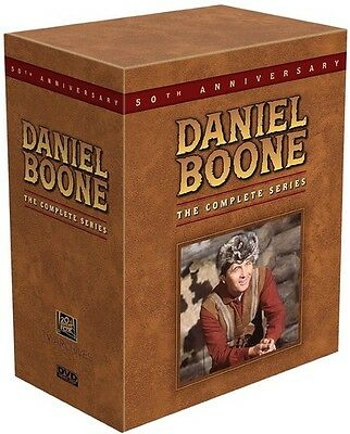 Daniel Boone: The Complete Series DVD