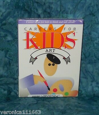 Careers for Kids Art Conversation New sealed 40 Cards deck Fun Facts Illustrator