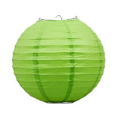 "12"" Round Circle Paper Lantern Party Hanging Home Decor Decorative Wedding Event"