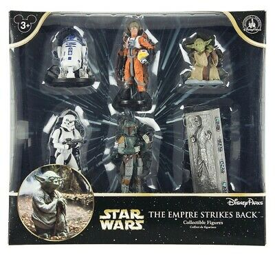 Disney Parks Star Wars The Empire Strikes Back Figure Cake Topper Playset New Wi