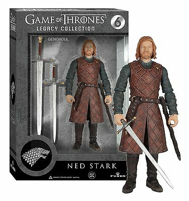 "Funko Ned Stark Game Of Thrones 6"" Figure Legacy Series One 1"