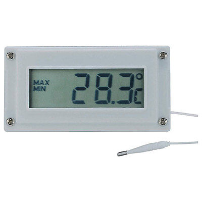 Voltcraft LCD Digital Thermometer and Clock With Bezel