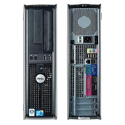 Dell Optiplex 780 Computer Desktop Tower Pc Intel Core 2 Duo 500Gb Hdd 4Gb Ram