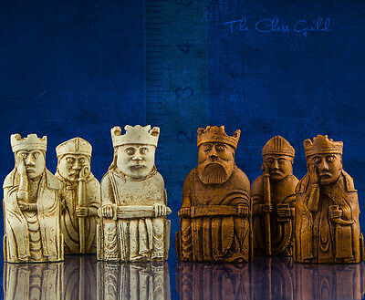 Isle of Lewis Chessmen, Small Chess Set, British Museum Collection, Harry Potter