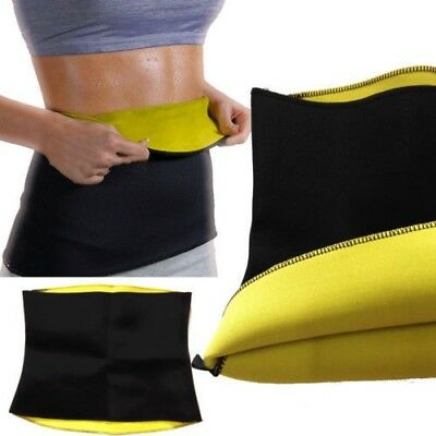 Hot Sauna Slimming Belt Waist Wrap Shaper Burn Fat Calorie Belly Loose Weight