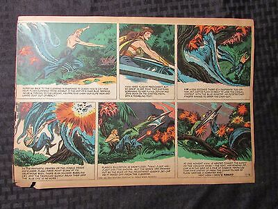 1952 FLASH GORDON Color Newspaper Strips by Mac Raboy LOT of 6 VG 10/12 - 11/16