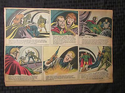 1952 FLASH GORDON Color Newspaper Strips by Mac Raboy LOT of 10 VG 6/8 - 8/10