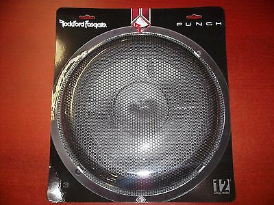 """Rockford Fosgate P3Sg-12 Mesh Grill P3 Shallow 12"""" Subwoofer Grille Protector Nr"""
