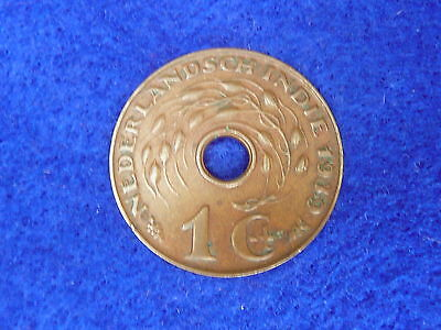 Netherlands East Indies 1939 one cent