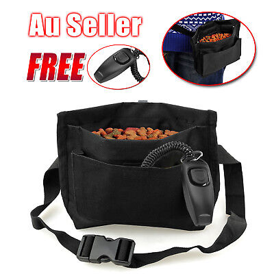 Dog Training Treat Waist Bait Agility Bag Puppy Pet Pouch Reward Obedience OZ