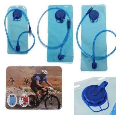 2L Water Bladder Camelbak Hydration System Pack Hiking Camping Backpack Sport LG