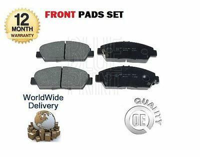 For Honda Accord 1993-> Prelude 2.0 1992-2000 New Front Brake Disc Pads Set