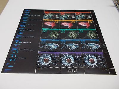 1999 DEEP SEA CREATURES Mint /MNH 15 33 Cent Gummed Postage Stamps #3439-43