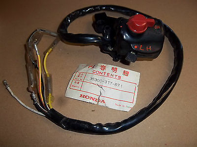 Honda Cl250K4 Cl350K4 R/H Handle-Bar Lght/Kill Switch 35300-317-671 Original Tek