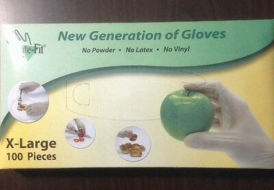 Food Service Gloves - 100 count X- LARGE NO POWDER or LATEX or VINYL