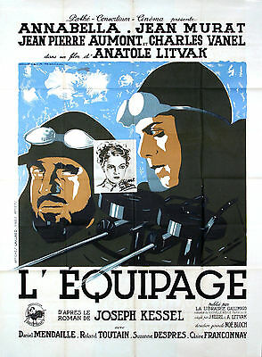 L'equipage - Original French Poster - Very Rare