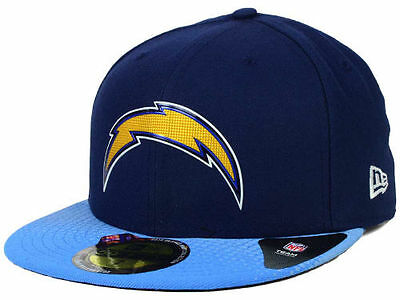 be2adadf0 Official 2015 NFL On Stage Draft San Diego Chargers New Era 59FIFTY Fitted  Hat