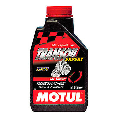 Motul Transoil Expert 10W40 2 Stroke Semi Synthetic Gear Oil 1 Litre - Bike / MX