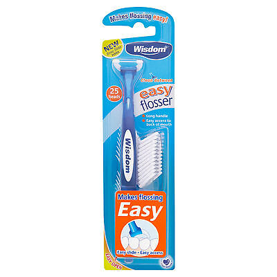 Wisdom Easy Daily Flosser 25 Refills Included