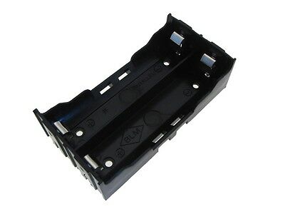 2*18650  Li-ion  Rechargeable Battery Holder PC Pin
