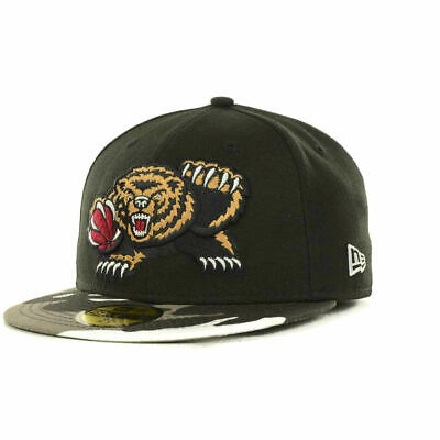 Vancouver Grizzlies NBA Fighter Camo 59FIFTY Fitted Flat Brim Hat Cap Memphis TN