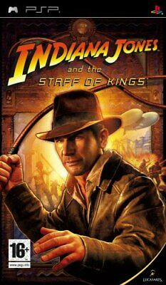 Indiana Jones and the Staff of Kings (PSP) - Game  J8VG The Cheap Fast Free Post