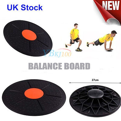 Fitness Balance Board Exercise Training Workout Wobble Fitness Exercise Gym -UK