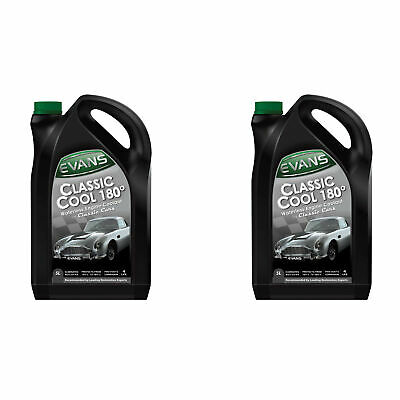 Evans Classic Cool 180 Waterless Engine Coolant - 2 x 5 Litres (10 Litres)