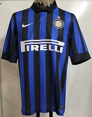 Inter Milan 2011/12 S/s  Home Shirt By Nike Size Adult Xl Brand New With Tags