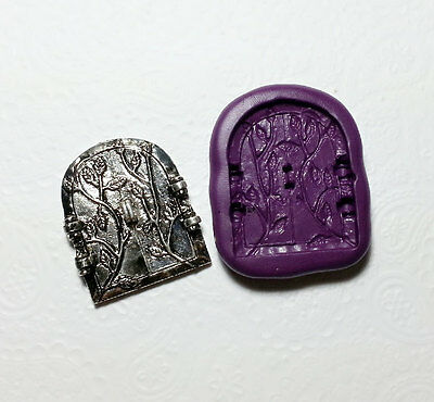 Silicone Mold Mystical Fairy Door Mould (42mm) Sugarcraft Chocolate Polymer Clay