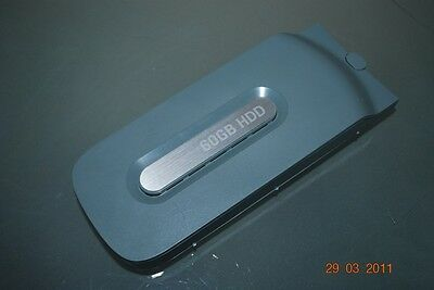 Official Grey Microsoft Xbox 360 60GB Hard Drive Clip On **FREE UK POSTAGE**
