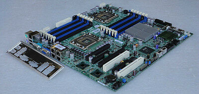 SuperMicro MotherBoard X8DT3-LN4F with Intel® 5520  Chipset,  with IO shield