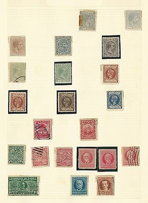 Caribbean Island Collection on 8 Pages, All Different, Nice Selection