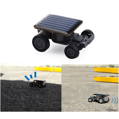 Eco Solar Powered Robot Racing Car Vehicle Educational Gadget Kids Baby Gift Toy