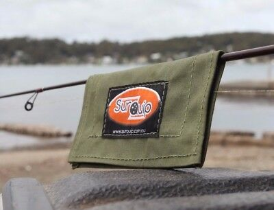 Fishing Lure Cover Wrap.  Australian made with Australian Canvas. Bream Bass