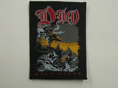 Dio Holy Diver Woven Patch