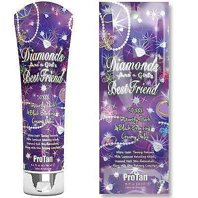 Pro Tan Diamonds Are A Girls Best Friend Sunbed Tanning Cream Lotion Accelerator