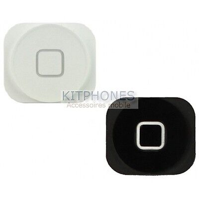 Bouton Menu Home Accueil Pour Apple Iphone 5 Middle Button Keypad Outside