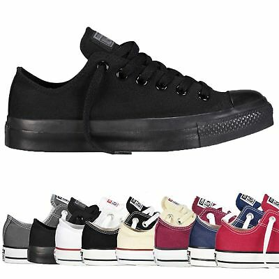 Converse Kids All Star Unisex Low Tops Boys Girls Chuck Taylor Trainers Shoes