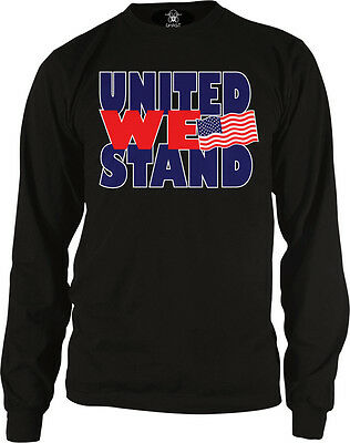 United We Stand- USA Flag Pride America July 4th Freedom Long Sleeve Thermal