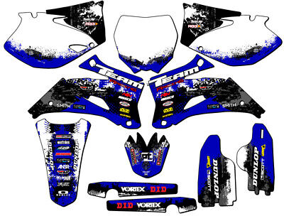 2006-2007 Yamaha Yz 250F 450F Graphics Kit Decals 250 450 F Deco Yz250F Yz450F