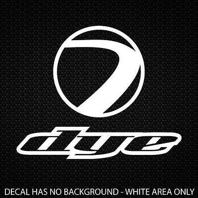Dye Paintball Decal 250x200mm [9 4/5x7 4/5in]