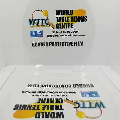 Table Tennis Rubber Double Sided Protector Film