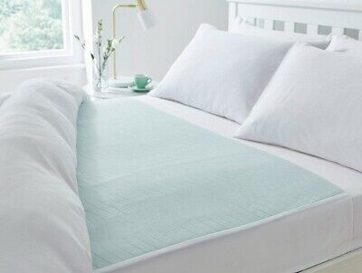 Community 85 x 135cms With Wings, 4L Washable Waterproof Absorbent Bed Pad