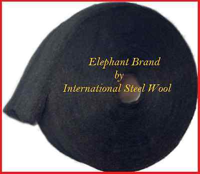 10 lb Case Steel Wool Rolls, Grade #00000 (5/0) PRO GRADE, THE FINEST
