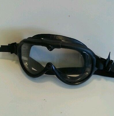 BOUTON Old US Military Desert Goggles Cycle Glasses Rat Rod
