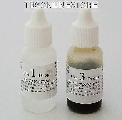 Replacement Chemical Kit For Mizar Gold Testers  M18A - ET18